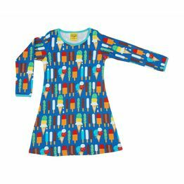 DUNS Blue Ice Cream A-Line Dress