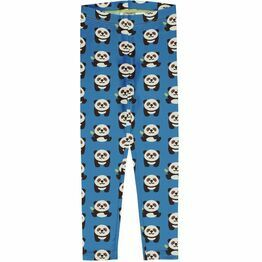 Maxomorra Playful panda Leggings