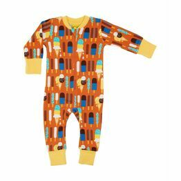 Duns Pumpkin Ice Cream Zip Suit