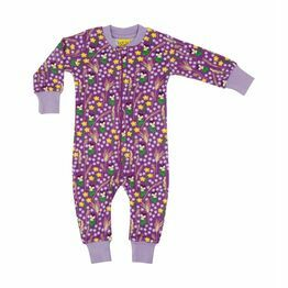 Duns Meadow Purple Zipsuit