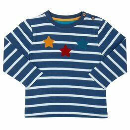 Kite Star Stripe Top (GOTS)