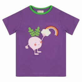 Piccalilly Beetroot Buddy Print T-shirt