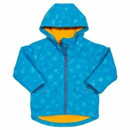 Kite Space Time Splash Hooded Coat