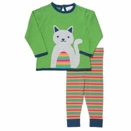Kite Cute Cat Knit Jumper & Leggings Set