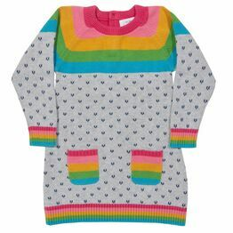 Kite Rainbow knit dress
