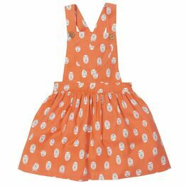 Kite Little Cub Print Pinafore Dress