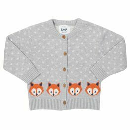 Kite Little Cub Print Cardi