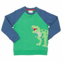 Kite T-Rex Appliqué Sweatshirt