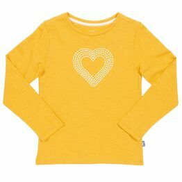 Kite Heart Print Long Sleeved T-Shirt