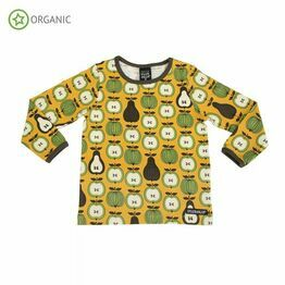 Villervalla Garden Fruit Long Sleeve Top, Honey