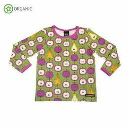 Villervalla Garden Fruit Long Sleeve Top, Turtle