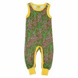 Duns Willowherb Olive Dungarees