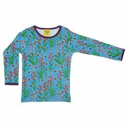 Duns Willowherb Blue Long Sleeve Top