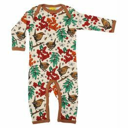 Duns Rowanberry Mother of Pearl Long Sleeve Sleep Suit