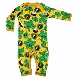 Duns Chestnut Yellow Long Sleeve Sleep Suit