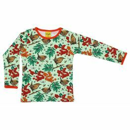 Duns Rowanberry Green Long Sleeve Top