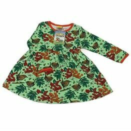 Duns Rowanberry Green Gather/Twirly Dress