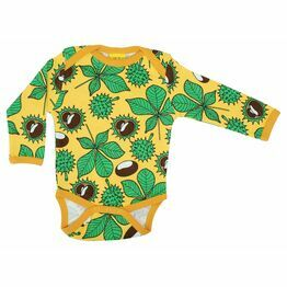 Duns Chestnut Yellow Long Sleeve Body Suit