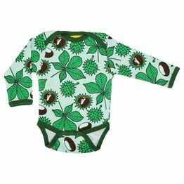 Duns Chestnut Green Long Sleeve Body Suit