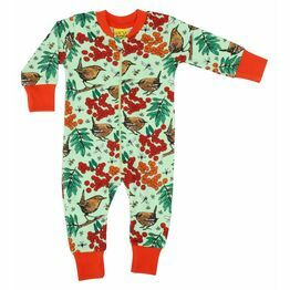 Duns Rowanberry Green Zipsuit