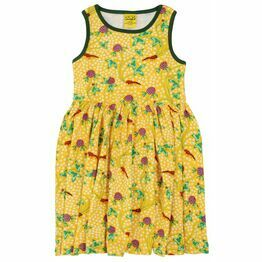 DUNS Red Clover Sleeveless Gather Dress