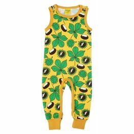 Duns Chestnut Yellow Dungarees