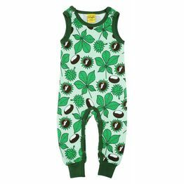 Duns Chestnut Green Dungarees