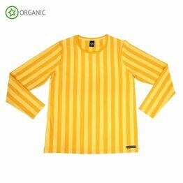 Villervalla Adult Long Sleeve Top Stripes, Honey