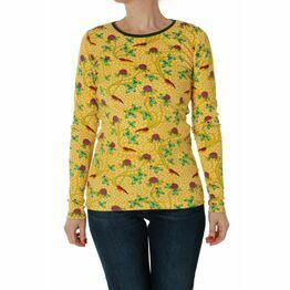 DUNS Adult Red Clover Long Sleeve Top