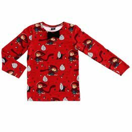 Raspberry Republic Fancy Long Sleeve T-shirt Little Miss Crimson