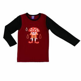 Raspberry Republic Long Sleeve T-shirt Autumn Rain Toadstool Fairy
