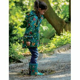 Frugi The National Trust Puddle Buster Coat, Pine Wood