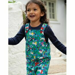 Frugi Parsnip Dungaree, Woodland Critters