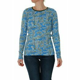 DUNS Adult Dill Blue Long Sleeve Top