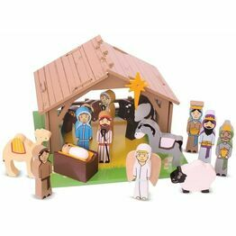 Bigjigs Wooden Nativity Set
