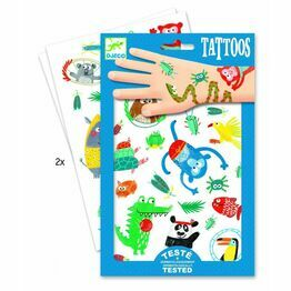 Djeco Temporary Tattoos - Snouts