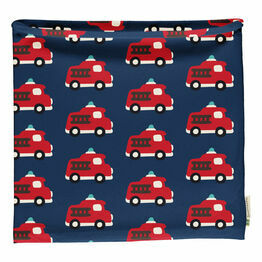 Maxomorra Fire Truck Tube Scarf