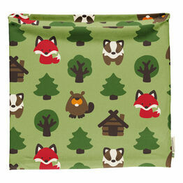 Maxomorra Green Forest Tube Scarf