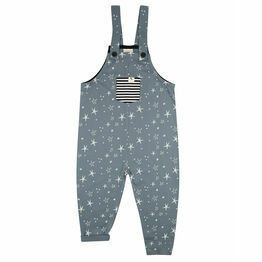 Turtledove London Super Star Easy Fit Dungarees