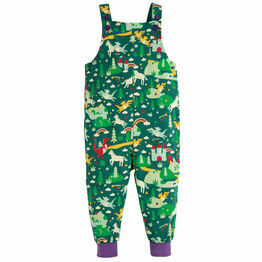 Frugi Frugi Parsnip Dungarees - Scots Pine Fairytale