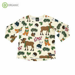 Villervalla Nordic Animals Oat T Shirt