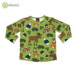 Villervalla Nordic Animals Turtle T Shirt