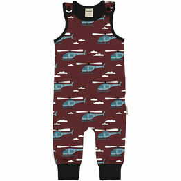 Maxomorra Helicopter Sky Playsuit