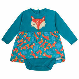 Piccalilly Foxes Baby Body Dress
