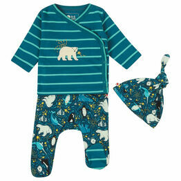 Piccalilly Arctic 3 Piece Baby Clothing Set
