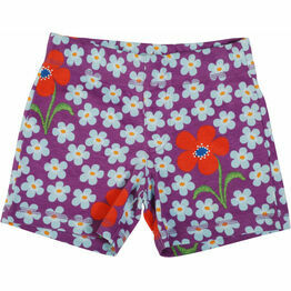 DUNS Flower Amethyst Short  Pants