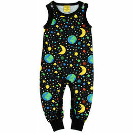 DUNS Mother Earth - Black  Dungaree