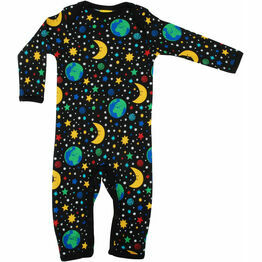 DUNS Mother Earth - Black  Long Sleeve Lap neck Suit
