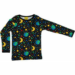 DUNS Mother Earth - Black  Long Sleeve Top