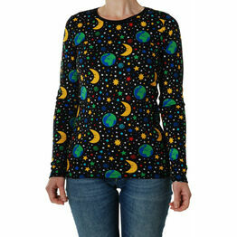 DUNS Adult Mother Earth - Black  Long Sleeve Top